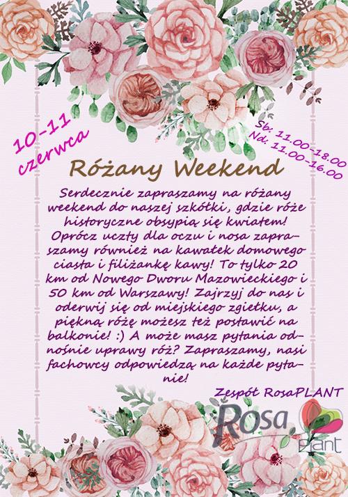 Różany Weeken