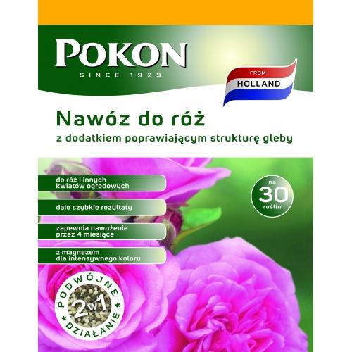 Nawóz do róż długodziałający 2w1 POKON 1kg