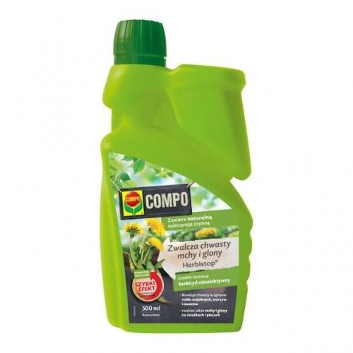 Herbistop 500 ml koncentrat - zwalcza chwasty, mchy i glony