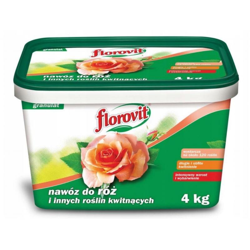 Florovit Nawóz mineralny do róż 4 kg
