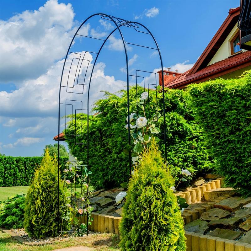 Garden Arch With An Arrow
