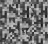 Srebrno-czarny młotkowy